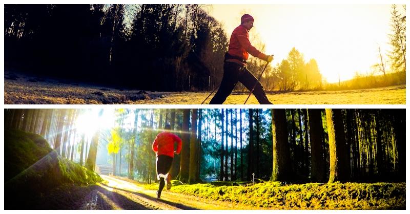 Was ist besser Nordic Walking oder Joggen